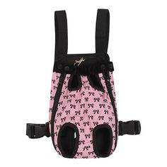 FakeFace Fashion Bowknots Pattern Pet Dog Doggy Sling Legs Out Design Outdoor Travel Durable Portable Front Chest Pack Carrier Backpack Shoulder Bag For Dogs Cats Puppy Carriers Pet Tote Bag *** You can get more details here : Cat carrier Dog Carrier Bag, Pet Travel Carrier, Airline Pet Carrier, Dog Travel, Sling Carrier, Cat Dog, Pet Puppy, Dog Backpack, Travel Backpack