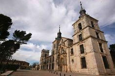 Palacio y la iglesia de Nuevo Baztán - Obra del arquitecto Churriguera.