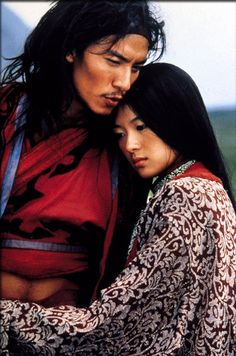 Chang Chen & Zhang Ziyi in Crouching Tiger, Hidden Dragon, 2000.
