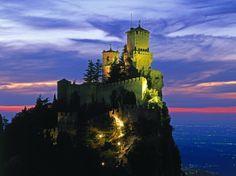 Castle in San Marino, Italy