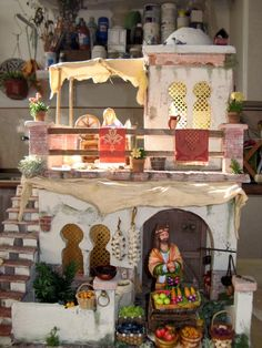 CREACIONES SANCHO: NUEVOS TRABAJOS Diorama, Ideas Para, Nativity, December, Table Decorations, Interior, Portal, Home Decor, Minis