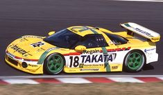 2000 Takata Dome Honda NSX Le Mans, Road Racing, Auto Racing, Acura Nsx, Japan Cars, Gt500, Nascar, Cars And Motorcycles, Touring