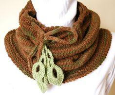 crochet neck warmer - Google Search