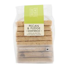Pecan & Fudge Shortbread 220g