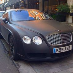 love matte black cars