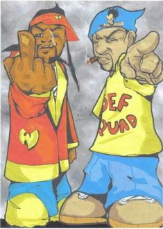 METHOD MAN & REDMAN TOONS