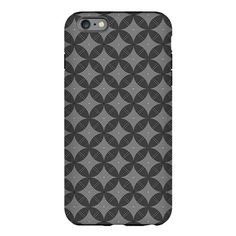 #iPhone Plus 6 Tough #Case with  Black and White pattern