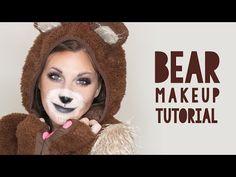 Cute Bear Makeup Tutorial for Halloween | Wonder Forest: Design Your Life.