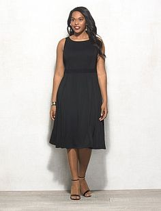 c4643fd7ad5 BEYOND by Ashley Graham™ Plus Size Mesh Dress Teacher Wardrobe