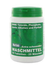 Waschmittel für Allergiker ohne Parfum für ca. 25 Waschladungen