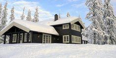 FEMUND: En av de mestselgende modellene til Norgeshus er Femund. En tradisjonell oppstuggu med to sidefløyer. Fra 1 501 965 kroner.