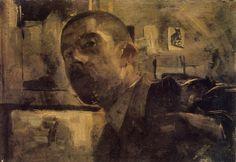 Zelfportret George Hendrik Breitner