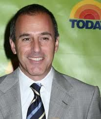 Matt Lauer - mornings would not be so thought provoking without him!