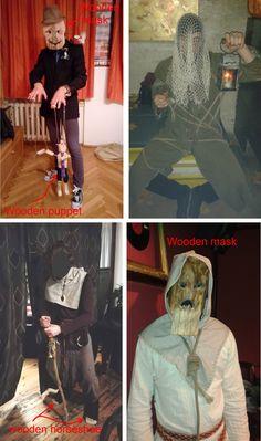 Self-made Halloween costumes ideas
