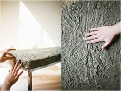 Irrelephant: HOW TO: DIY Concrete Coffee Table