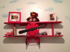 Seth's airplane shelf