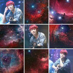 chanyeol + cosmos moodboard