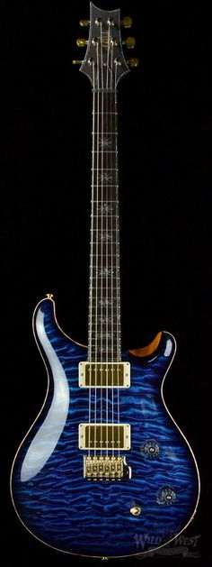 PRS Paul Reed Smith Collection IX McCarty Trem Aqua Violet Smoked Burst Quilt