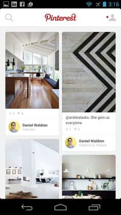 Pinterest Design Patterns - Pttrns