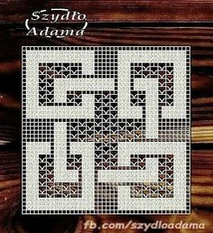Filet Crochet Charts, Crochet Cross, Crochet Diagram, Crochet Art, Crochet Round, Tapestry Crochet, Thread Crochet, Crochet Stitches, Crochet Square Patterns