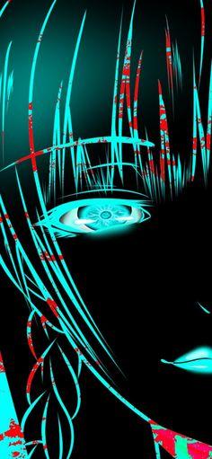 Melhores wallpapers de Kakegurui para celular Sapphire Steven Universe, Neon Wallpaper, Sarada Uchiha, Couple Aesthetic, Yandere, Tokyo Ghoul, Neon Signs, Fan Art, Posters