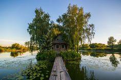 Abandoned cottage, Solotvyno, Ukraine