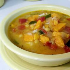 Spicy African Yam Soup Allrecipes.com