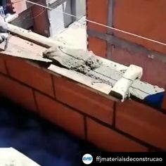 Woodworking - New ideas Woodworking Videos, Woodworking Plans, Woodworking Projects, Homemade Tools, Diy Tools, Brick Laying, Brick Construction, Diy Home Repair, Brick And Mortar