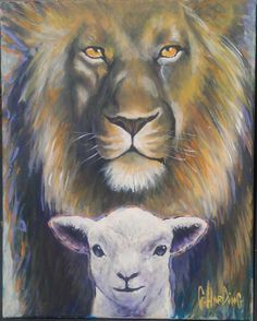 Lion of Judah, Lamb of God.