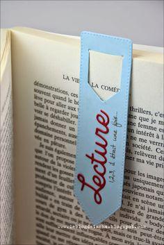 Marque-page Tacha - Scrap - Papeterie Creative Bookmarks, Diy Bookmarks, Diy Paper, Paper Crafts, Bookmark Craft, Book Markers, Tampons, Book Making, Book Lovers