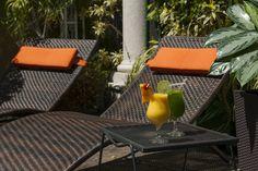 Jacuzzi Terrace, Hotel Grano de Oro, San Jose, Costa Rica