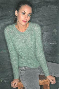 Pullover aus Kid-Seta