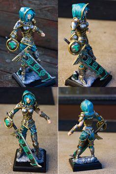 Redeemed Riven Miniature Sculpture Artist's Page: http://sushumo.deviantart.com/