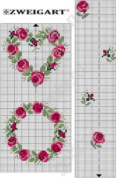 Gallery.ru / Фото #80 - Схемы - igolozka Cross Stitch Heart, Cross Stitch Cards, Cross Stitch Borders, Cross Stitch Flowers, Cross Stitch Designs, Cross Stitching, Cross Stitch Embroidery, Cross Stitch Patterns, Cross Stitch Geometric