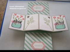 Twisted pop up card.