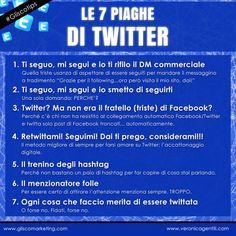 Glisco Marketing | Le 7 Piaghe di #Twitter