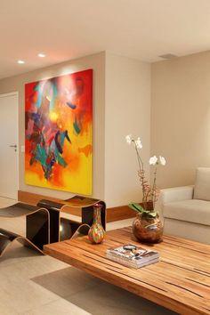 Apartamento Barra da Tijuca (Condomínio Santa Mônica Jardins) / Eliane Fiuza #living #lighting #decor