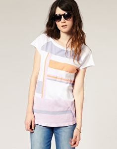 Cool colours, cool shapes, cool tee