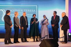 Pakistan's Bilquis Bano, caretaker of speech and hearing impaired Geeta, Gladys Staines and Medecins Sans Frontieres (MSF) aka Doctors Without Borders were honored with the Mother Teresa Memorial International Award for Social Justice 2015.  Read more: http://www.washingtonbanglaradio.com/content/115037515-bilquis-bano-gladys-staines-and-doctors-without-borders-win-mother-teresa-memorial#ixzz3sRtAzJfn  Via Washington Bangla Radio®  Follow us: @tollywood_CCU on Twitter