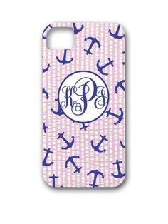 seersucker + anchors + monogram = DG paradise!