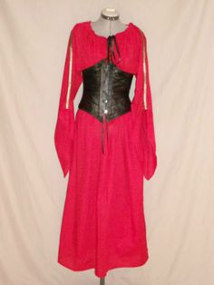 Ladies angle sleeve chemise (corset not included)  $38.00
