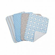 Logan Burp Cloth Set