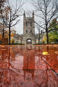 Memorial Union. University of Missouri, Columbia, MO. Photograph by Notley Hawkins.