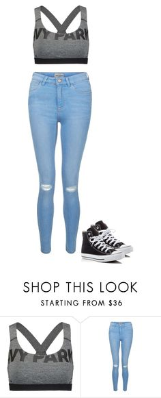 """""""Normal style"""" by explorer-146268013710 ❤ liked on Polyvore featuring interior, interiors, interior design, home, home decor, interior decorating, Ivy Park, New Look and Converse"""