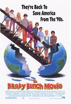 The Brady Bunch Movie posters for sale online. Buy The Brady Bunch Movie movie posters from Movie Poster Shop. We're your movie poster source for new releases and vintage movie posters. Good Comedy Movies, 90s Movies, Great Movies, Movies To Watch, Comedy Film, Childhood Movies, Awesome Movies, Famous Movies, Cult Movies