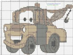 Tow Mater 1 of 2 Planners, Tow Mater, Unicorn Crafts, Craft Stores, Little Boys, Cross Stitch Patterns, Disney, Knit Crochet, Sewing Projects