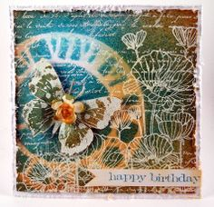 Suzz's Stamping Spot: Butterfly Collage