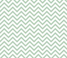Chevron Robin fabric by tradewind_creative on Spoonflower - custom fabric