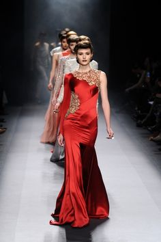 Jenny Packham Fall 2012...  Love the color and love the cut outs! A little Downton Abbey-ish?