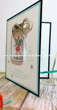 Fairy Celebration, Jar of Love, Stampin' Up!, #stampinup